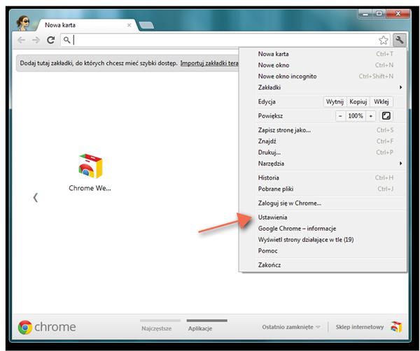 Motywy Google Chrome