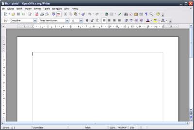 Darmowy pakiet biurowy OpenOffice