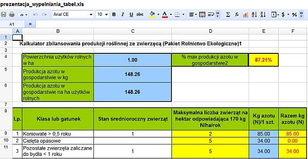 jak otworzyć plik XLS bez Excela - Zoho Docs