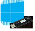 Windows 8 logo pendrive usb