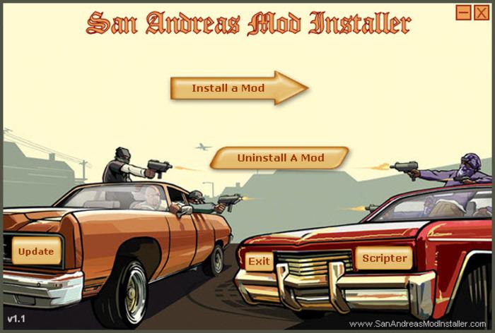 San Andreas Mod Installer - SAMI