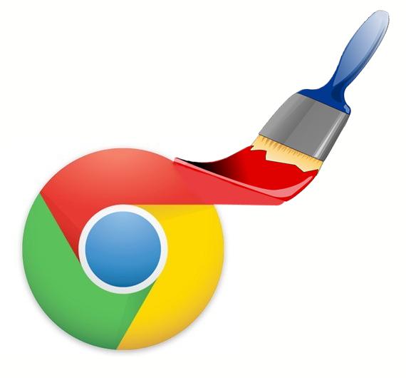 Zmień kolory Chrome