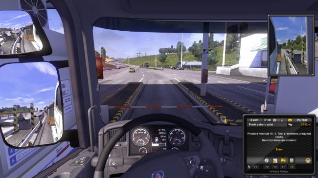 Euro Truck Simulator 2 bramki na A2