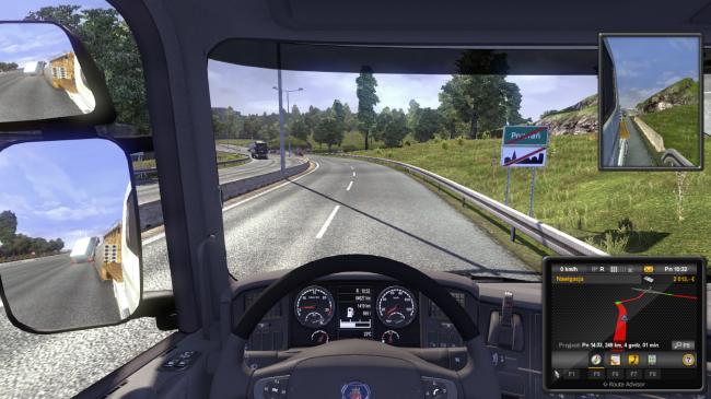 Euro Truck Simulator 2 szoferka