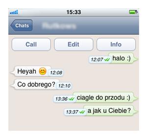 Whatsapp online na komputer