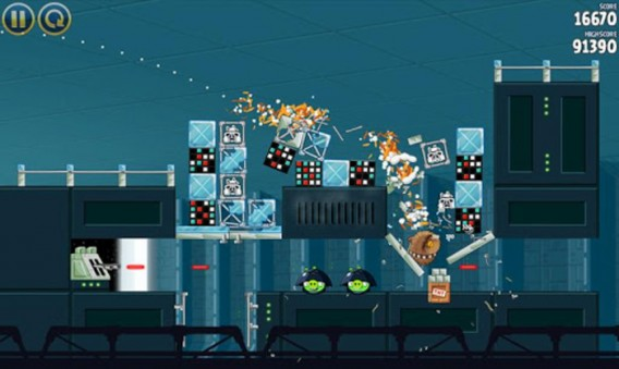 Angry Birds Star Wars na Android