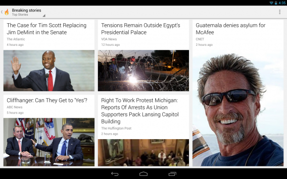 Google Currents na Android
