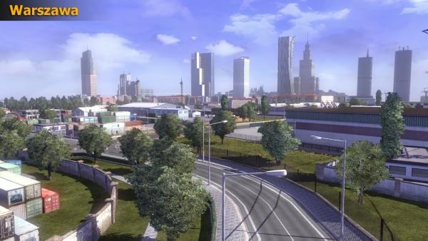 Warszawa w Euro Truck Simulator 2