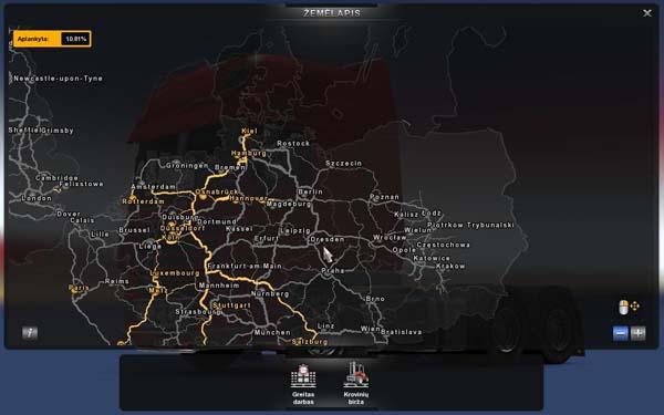 Mapa Polski mod ETS 2