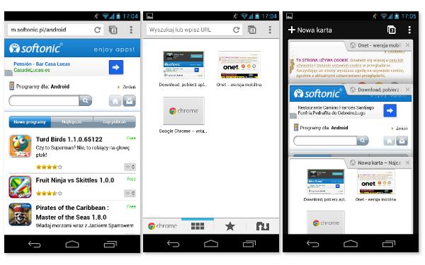Chrome na Android