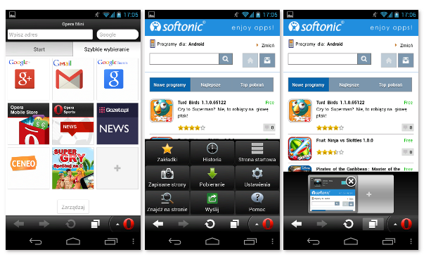 Opera Mini na Android