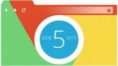 Google Chrome obchodzi dzisiaj piąte urodziny!