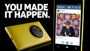Nokia podgrzewa atmosferę. Wkrótce Instagram na Twoją Lumię?