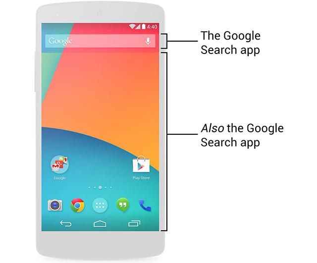 Google Search w KitKat 4.4