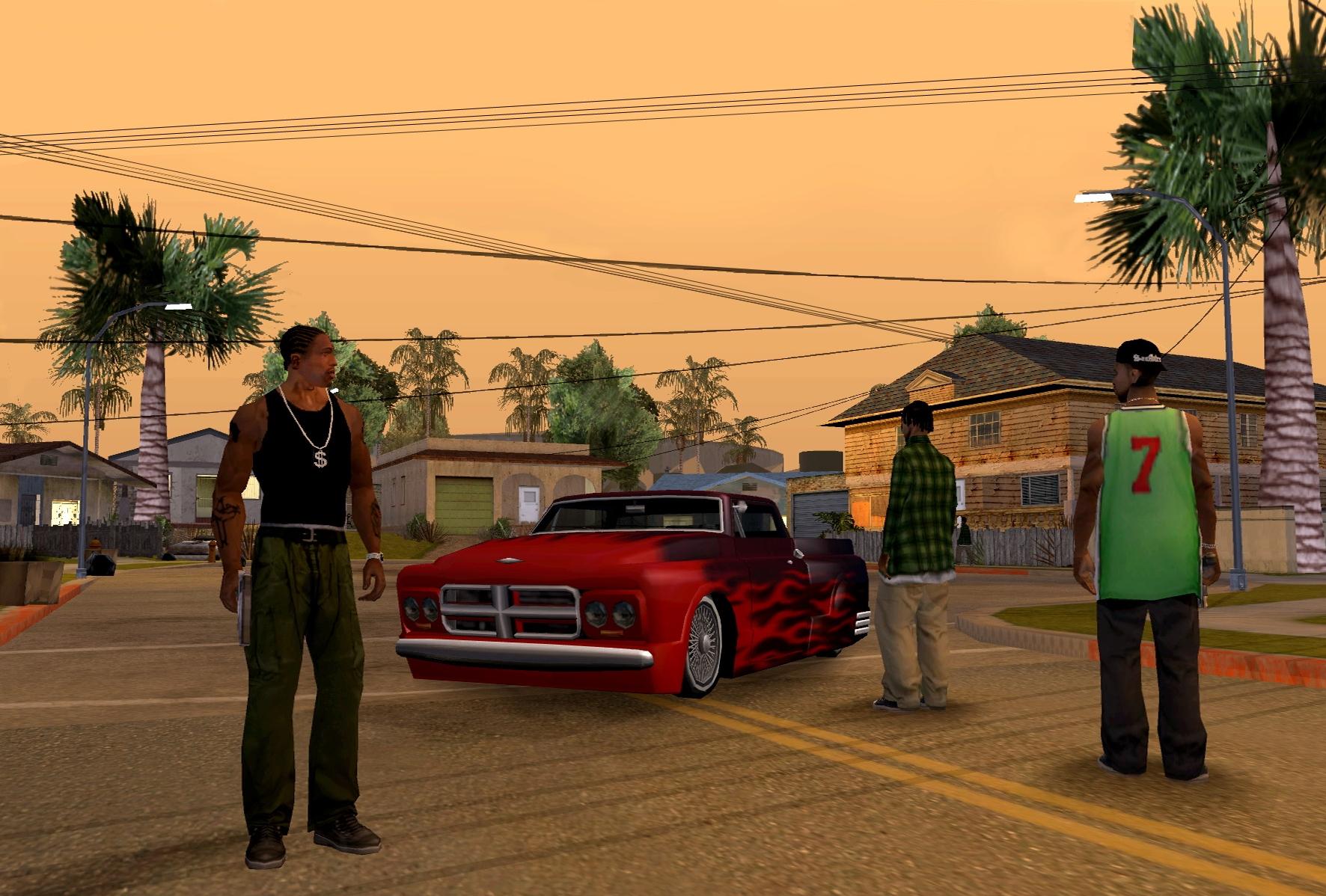 GTA: San Andreas na niektóre telefony Lumia już wydane!
