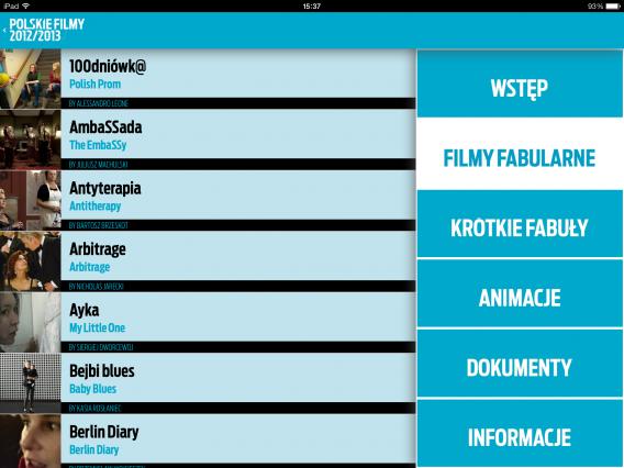 Polskie Filmy 2012/2013