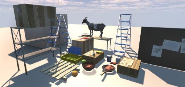 Goat Simulator - Symulator Kozy