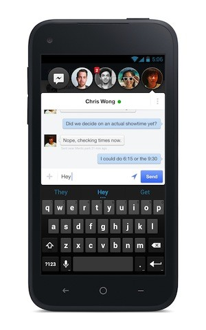 Facebook - chatheads