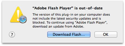 Flash Player w OS X