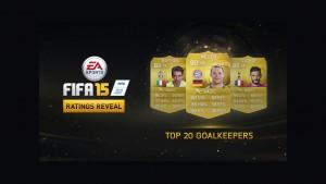 FIFA 15: lista najlepszych bramkarzy w grze, niestety bez Polaków