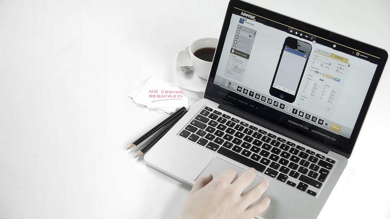 Nowe trendy: stwórz własną aplikację z Kinetise