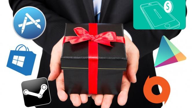 Aplikacja lub gra jako prezent