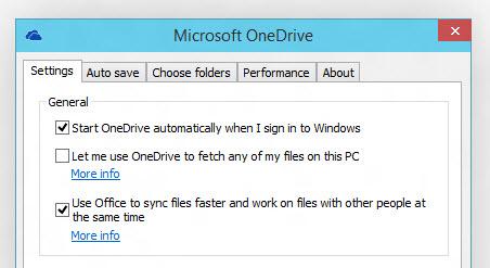 Microsoft OneDrive synchronizacja