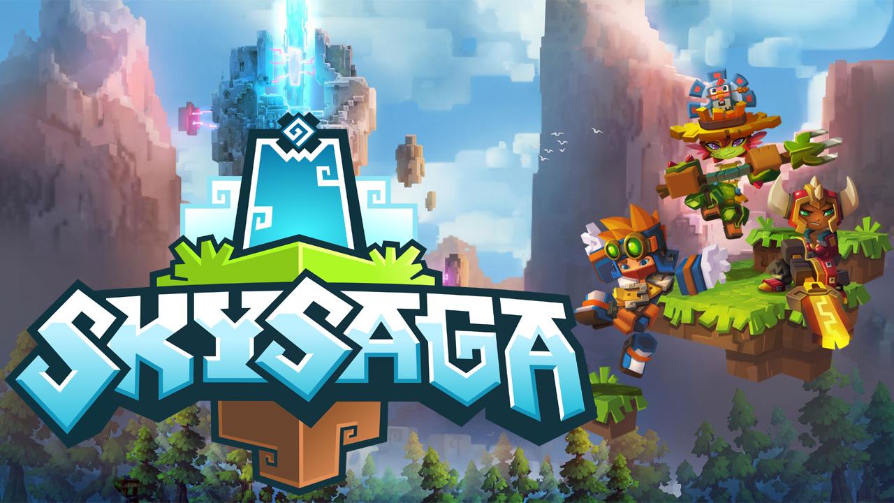 Minecraft + MMORPG = SkySaga