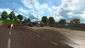 ETS 2: kolejne zrzuty ekranu ze Scandinavia DLC tym razem z fabryką Volvo
