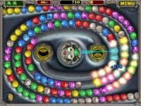 Screenshot de juego Zuma