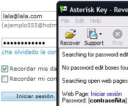 Asterik Key en acción