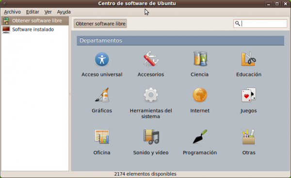 Ubuntu One y el Centro de software de cerca
