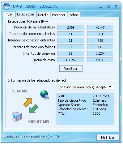 TCP-Z