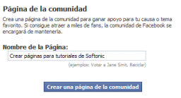 Manual de Facebook (IV): Crear una página