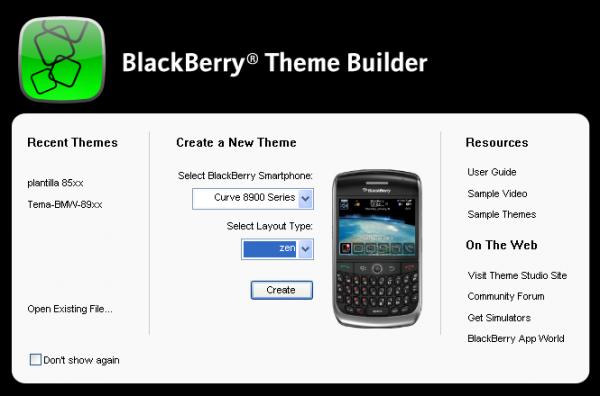 Cómo crear tus propios temas para BlackBerry