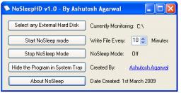 Tres utilidades para mantener despierto el PC