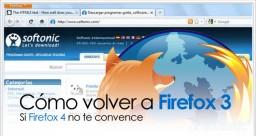 Cómo desinstalar Firefox 4 y volver a Firefox 3.6