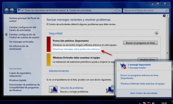 Cómo sobrevivir sin antivirus en Windows