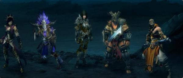 Las cinco clases de Diablo III
