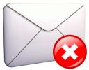 Mail ausente... el correo no ha llegado