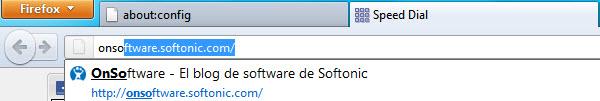 Autocompletado en Firefox