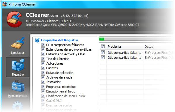 Registro CCleaner