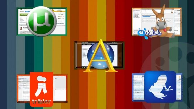 Los 5 mejores programas de descarga P2P para Windows