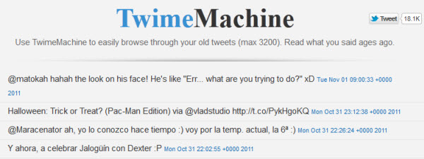 twime machine