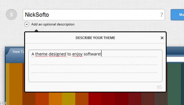 Crea tus propios temas para Google Chrome