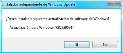 Instalador update