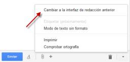 [Actualizado] Cómo cambiar a la vieja pantalla Redactar en Gmail