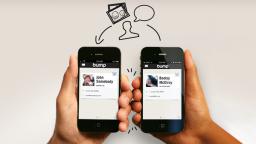 Comparte fotos, vídeos y archivos golpeando tu móvil con Bump