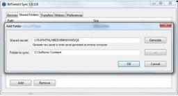 Comparte archivos y carpetas ilimitados a través de p2p gracias a BitTorrent Sync