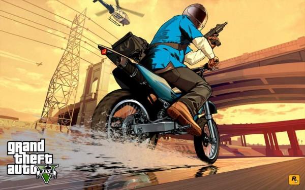 """Nueva imagen de GTA 5 escondería referencia a Carl """"CJ"""" Johnson"""